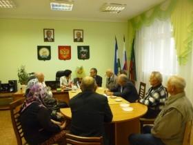 Выездное заседание президиума Совета ветеранов муниципального района Белебеевский район Республики Башкортостан