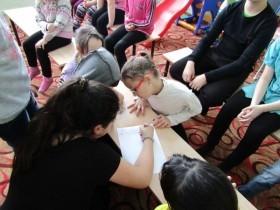 Разъяснительная беседа с детьми по противопаводковым мероприятиям в МАУК Максим-Горьковском СДК.