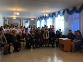 В школе села санатория Глуховского провели торжественное мероприятие, посвященное памяти Романа Афанасьева.