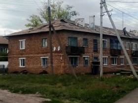19 июня 2019 года начались работы по капитальному ремонту крыши дома №2, ул. Мира, с. ЦУП им. Максим-Горького.