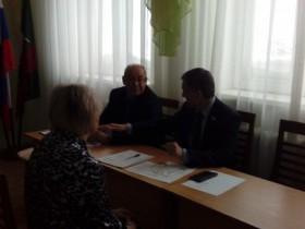 Прием граждан депутатом Государственного Собрания - Курултая РБ А.Б. Бакировым