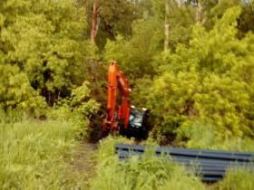 Ремонт участка водопровода по программе ППМИ