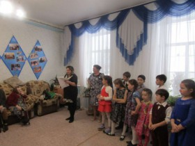 3 декабря 2017 года в Доме престарелых с. ЦУП им.М.Горького  состоялось мероприятие к Международному дню инвалидов!!!