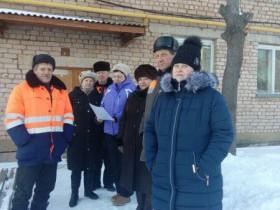 Обследование дома № 4 по ул. Строителей в с.санатория Глуховского в рамках программы по капитальному ремонту