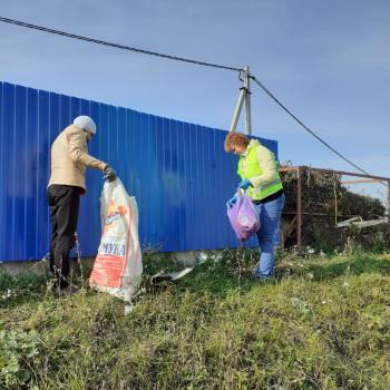 Уборка у контейнерных площадок